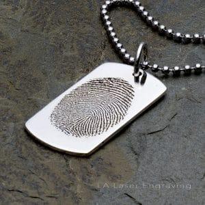 fingerprint engraving
